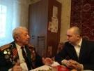 Мэр города в гостях у ветерана