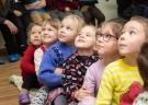 В музее прошла детская святочная вечёрка.