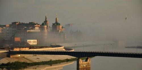 """Утро в городе"". Фото: Диляра Хасанова"
