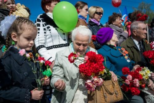 70 лет Великой Победе. Фото: Алексей Комелин